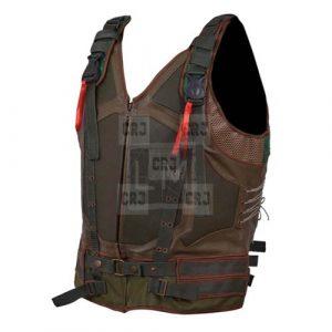 Banes Faux PU Leather Vest
