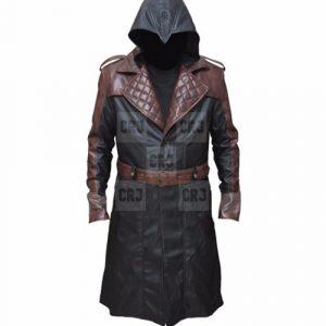 Assassins Creed Leather Coat