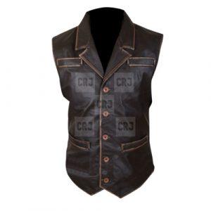 Cullen Bohannan Distressed Leather vest