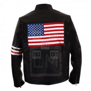 USA Flag Easy Rider Jacket