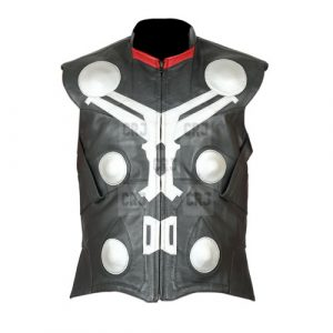 Thor Avengers Infinity War Faux Leather Vest
