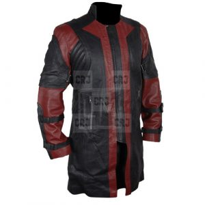 Avenger Hawkeyes Leather Coat