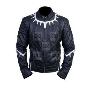 Black Panther Faux Leather Jacket