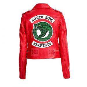 Red Riverdale Southside Women Jacket