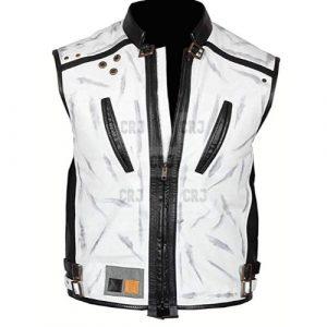 Star Wars White Leather Vest