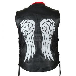 Daryl Dixon Leather Vest