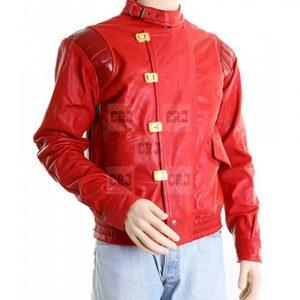 Akira Kaneda Men's/Women's Red Leather Jacket With Capsule