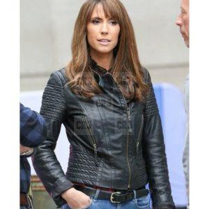 Alex Jones Slim Fit Real Leather Biker Jacket