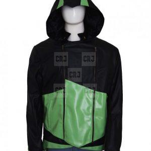 Assassin's Creed-3 coat Unisex Leather Hoodie Jacket