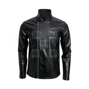 Adult Greaser T Birds Moto Black Leather Jacket