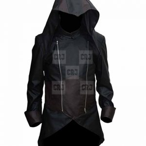 Assassins Creed Unity III Exotica Leather Costume With Hoodie