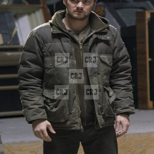 Danny Rand The Defender Casual Cotton & Leather Jacket