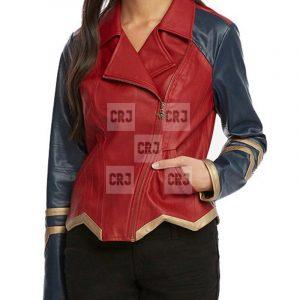 Diana Prince Wonder Women Leather Jacket