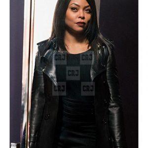 Celebrity Goo Hara Black Cotton Hooded Mini Coat