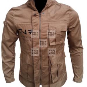 Star Wars The Last Jedi Rose Brown Leather Jacket