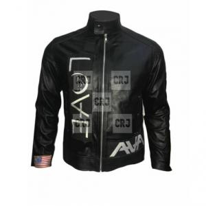 Ava Love Tom Delonge Angels & Airwaves Black Leather Jacket