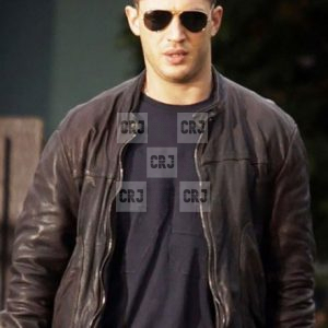 Tom Hardy This Means War Brown Leather Jacket